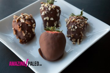 Paleo Chocolate Covered Strawberries recipe!