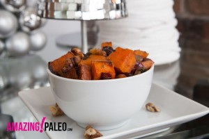Holiday Paleo Roasted Sweet Potatoes recipe!