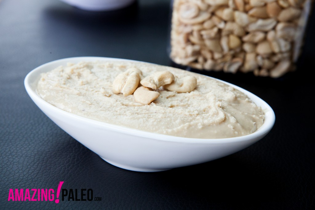 How-To Make Cashew Butter - recipe with step-by-step instruction!