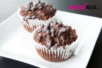 Paleo Triple Chocolate Muffins!
