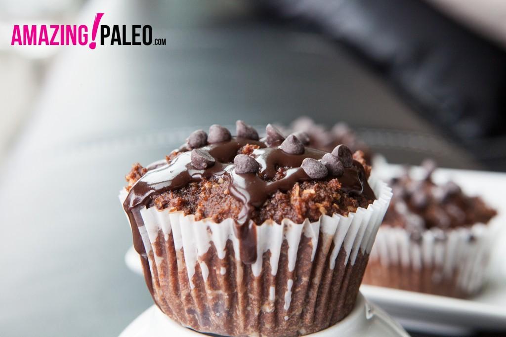 Paleo Triple Chocolate Muffins!