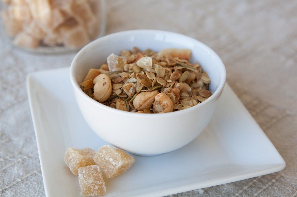 Amazing Foodie's Cashew Ginger Granola recipe!