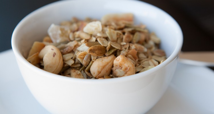 Amazing Foodie's Cashew Ginger Granola recipe!