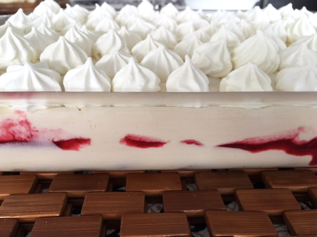 Amazing Foodie's Frozen Blackberry Meringue Dessert recipe!
