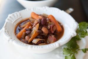 Amazing Foodie's 3 Bean Vegan Chili recipe.
