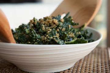 Dino Kale Super Salad recipe!
