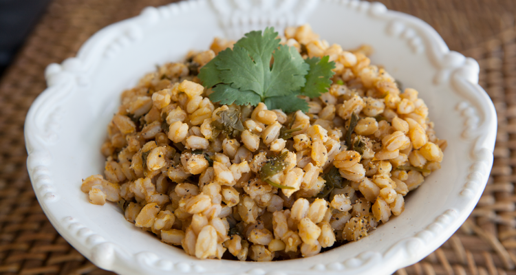 Amazing Foodie's Farro con Limon recipe