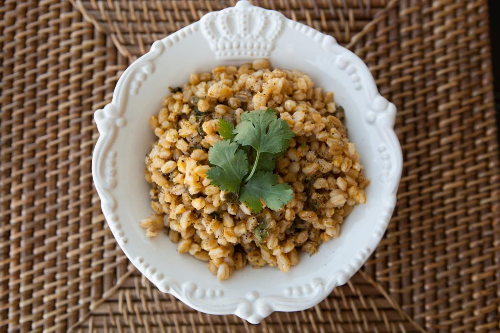 Amazing Foodie's Farro con Limon recipe