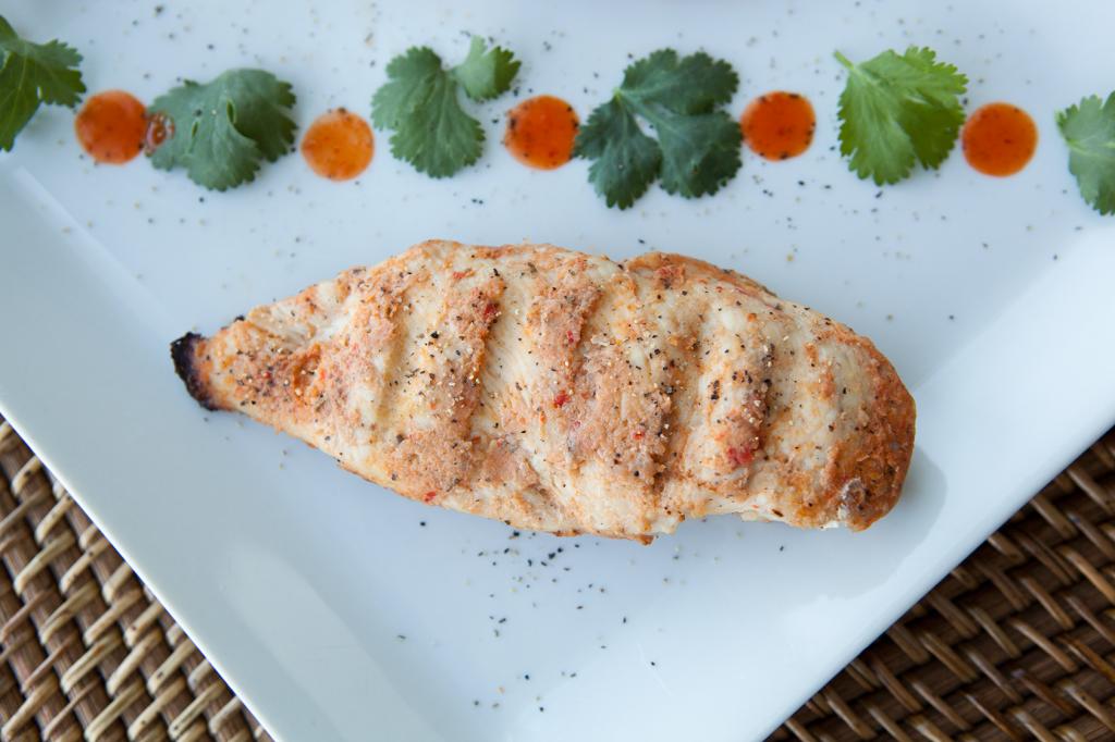 Garlic and Herbs Grilled Chicken recipe