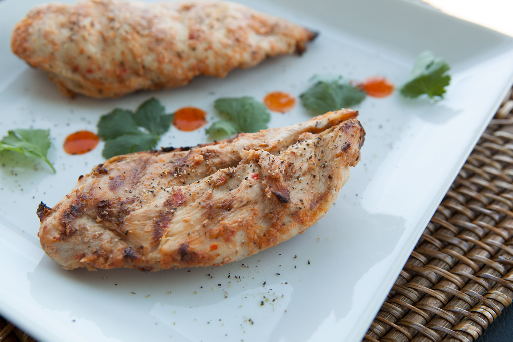 Garlic and Herbs Grilled Chicken recipe
