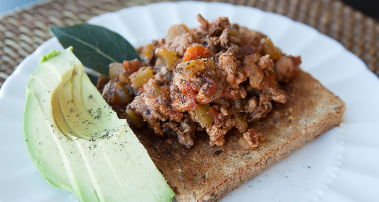 Healthy Turkey Sloppy Joe recipe!
