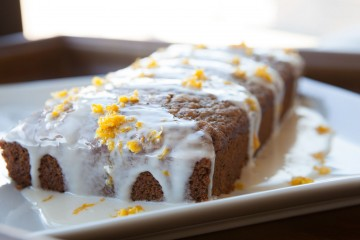 Vegan Lemon Poppy Seed Bread with Sugar Glaze recipe!
