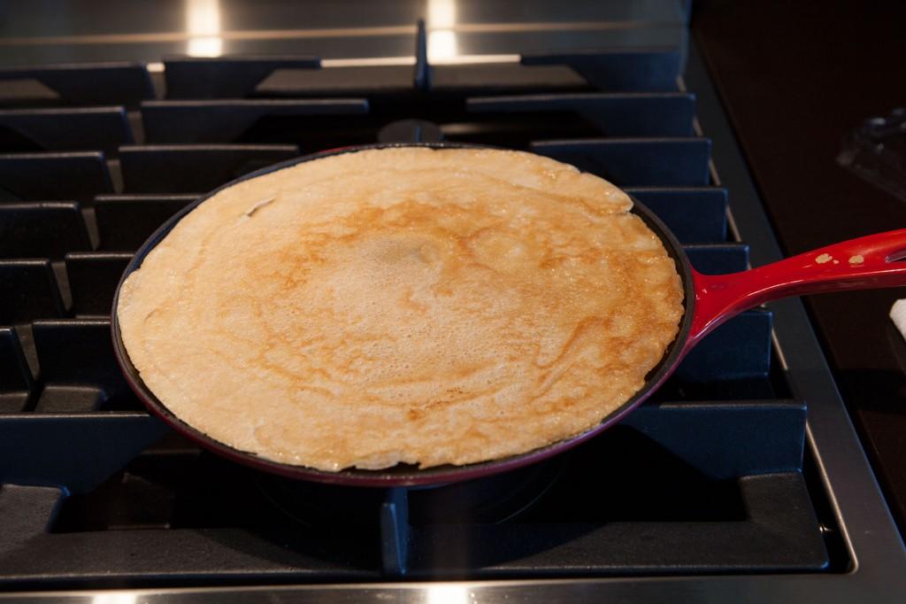 Chicken Pesto Crepes. A recipe your family will love!