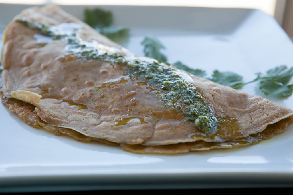 Chicken Pesto Crepes. A recipe your family will love!