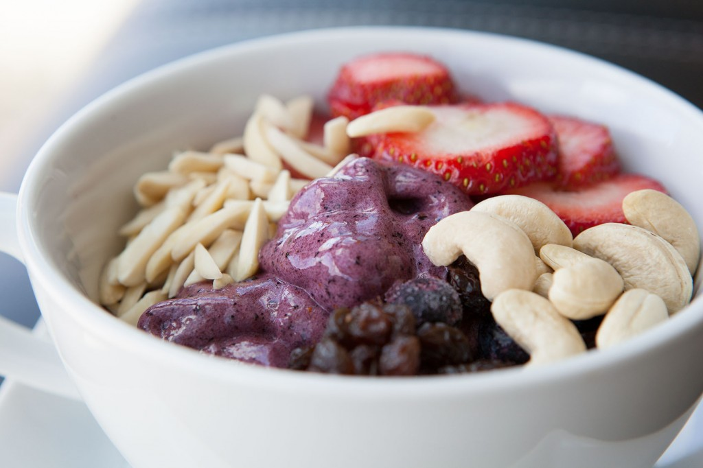 Blueberry Banana Healthy Bowl recipe!