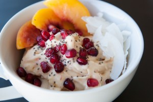 Honey Peach Healthy Bowl recipe!