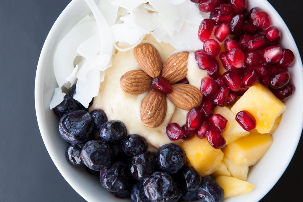 Sweet Mango Healthy Bowl recipe!