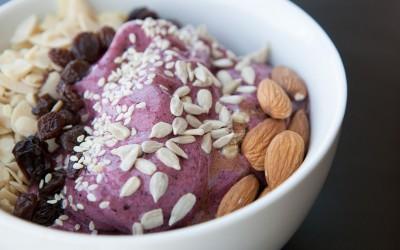 Healthy Bowl - Very Berry Banana recipe!