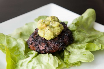 Bison Burgers with Guacamole recipe!