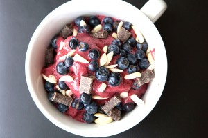 Berry Galore Healthy Bowl topped with delicious and healthy goodies. Awesome recipe!
