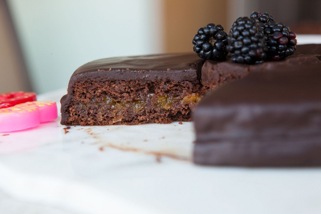 Nut-Free Chocolate Birthday Cake